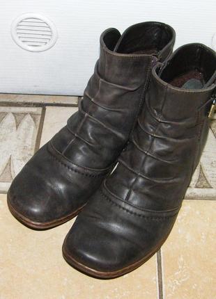 Ботинки luftpolster деми кожаные, размер 39