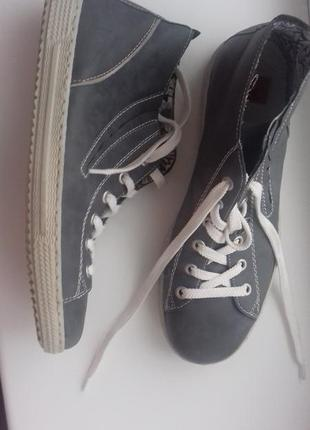 Ботинки туфли деми челси rieker