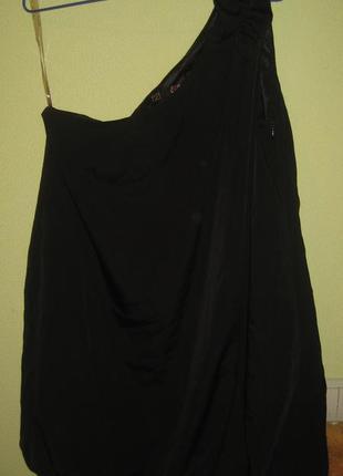 Шикарная блуза на одно плечо