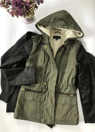 Куртка new look демисезонная / парка new look