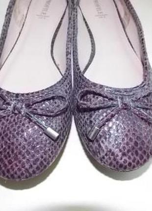 Новые фирменные немецкие туфли балетки profile р-р uk5,наш 37(24см)