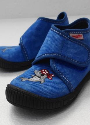 Superfit. текстильные туфли, тапочки. 13 см стелька, 21 размер.