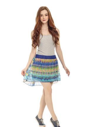 Разноцветная юбка от  terranova
