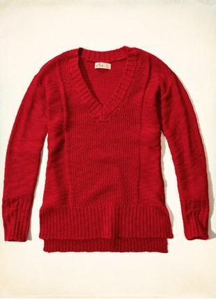 Теплый свитер/реглан hollister