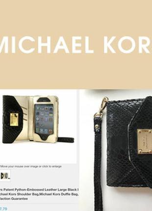 Клатч- кейс-кошелёк на кистевом ремешке, для iphone 4