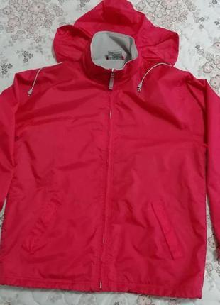 Куртка ветровка с капюшоном  унисекс b&c atlantic размер м
