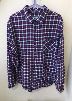 Avenue бангладеш  рубашка теплая 48р l