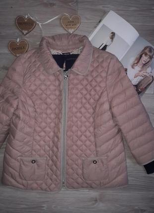 Charles vögele стеганая куртка с рукавом 3/4. сток р52