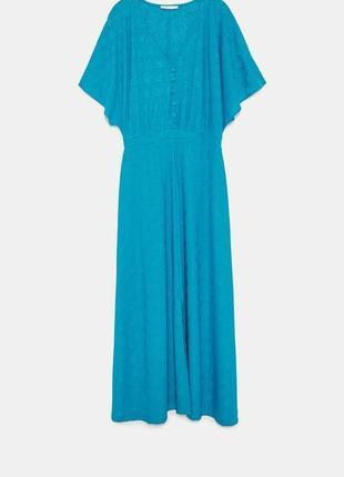 Платье длины миди zara, размер s-m