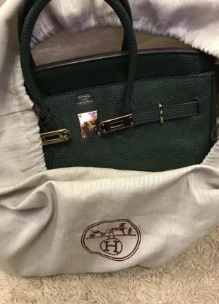 Сумка hermès birkin натуральная кожа