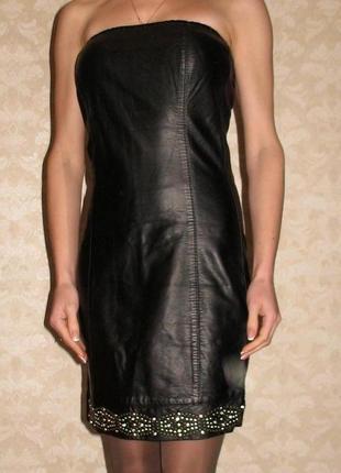 Фирменное платье-бюстье black orchid, пр-тво турция, р. s
