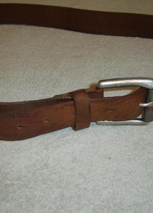 Ремень кожаный esprit длиной 124 см