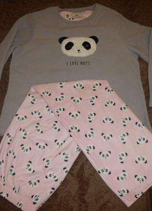 Флисовая пижама love to longe p.14-16