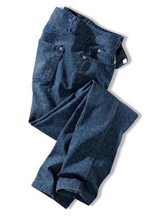 Модный образ - джинсы в звериный принт от tchibo, германия
