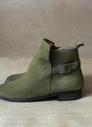 Кожаные ботинки, сапоги h&m, 37 р. чоботи