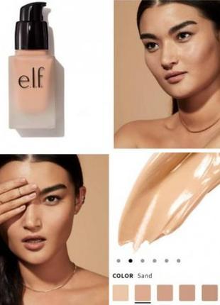 Тональный крем от бренда elf