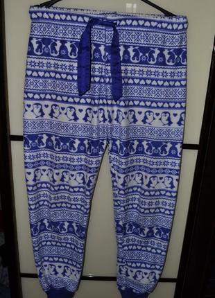 Пижамные новые штаны