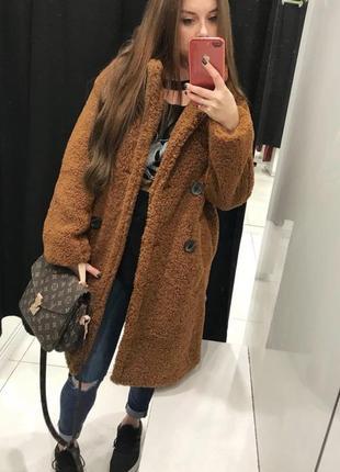 Шубка,пальто bershka