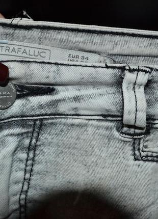 Zara штаны джинсы скини