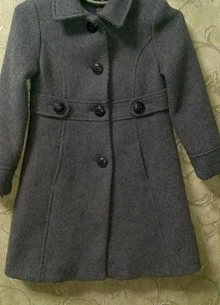 Стильное пальто для девочки3