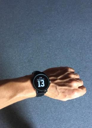 Стильные мужские часы с большим циферблатом с цифрой 13