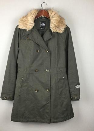 Женская куртка the north face primaloft демисезонная куртка тренч пальто теплая косуха