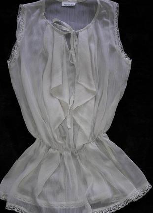 Воздушная элегантная блузка yessica