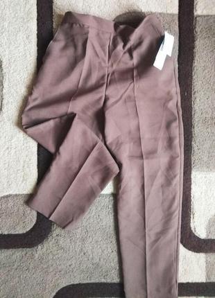 Супер -цена! новые стильные брюки, повседневные, классические, m
