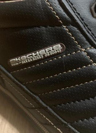 Ботинки, кроссовки skechers кожаные