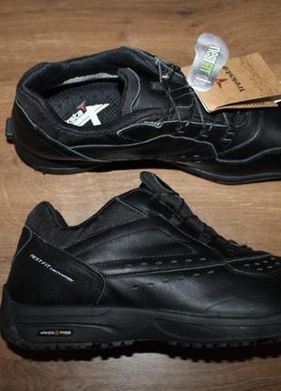 Анатомические кожаные кроссовки treksta handsfree 108 gtx gore-tex