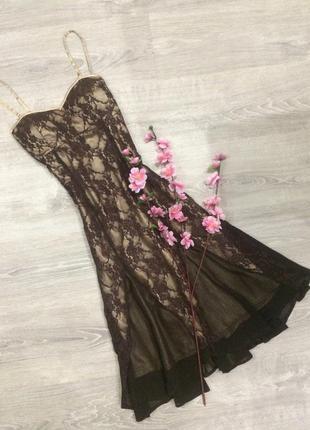❤️ секси кружевное  платье от laura scott