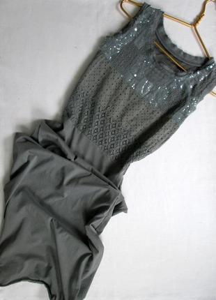 Базовое итальянское хлопковое платье цвета хаки/италия