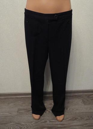 Классические штаны, брюки черные 50р