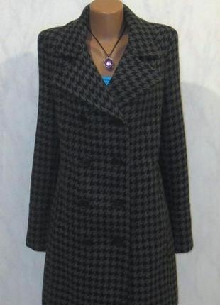 Шерстяное пальто от capture размер: 50-l, xl