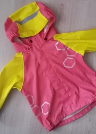 Непромокаемая куртка дождевик грязепруф на 2 года