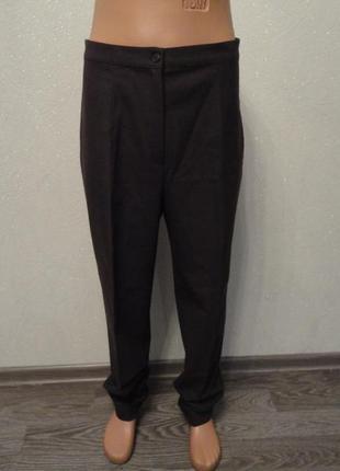 Классические штаны, брюки коричневые