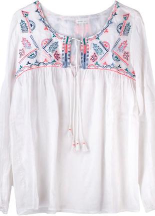 Блуза вышиванка в стиле бохо