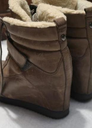 Ботинки зимние - сникерсы koolaburra размер 37 - 37,5