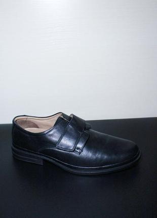 Оригинал clarks flexlight туфли черные black 29 / 29.5