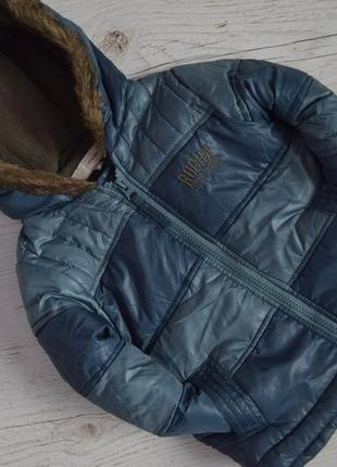 Деми куртка осень-еврозима на 12-18мес.