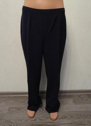 Классические брюки, штаны 52р синие
