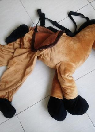 Костюм карнавальный лошадь лошадка конь 110-116 ростовая кукла