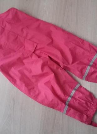 Непромокаемый комбинезон штаны грязепруф impidimpi на 1-2 года