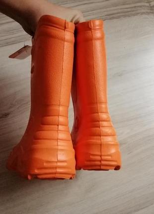 Резиновые сапоги crocs кроксы с10-11 новые3