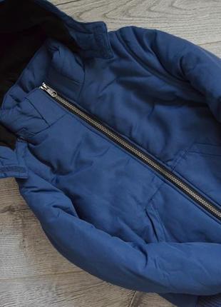 Теплющая куртка нм 8-9л,флис,плотный синтепон.