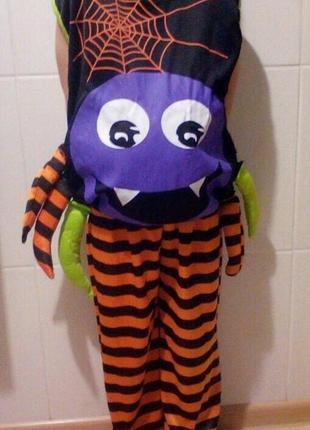 Карнавальный костюм паук, хэллоуин на 6-7 лет