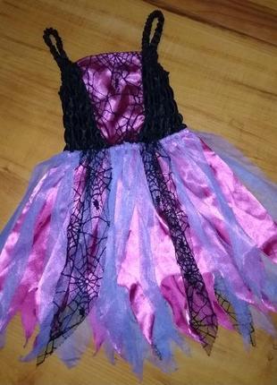 Карнавальный костюм, платье на хэллоуин на 3-4 годика