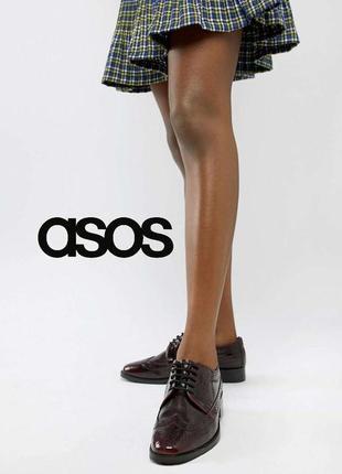 3507 туфлі asos uk6,5/eu40-39 сток шкіра