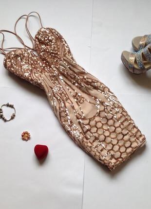 Платье в пайетки missguided. обнова! смотрите мои объявления!