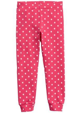 Оригинальные пижамные брюки от бренда h&m разм. 134-140 (8-10лет)